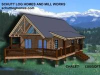 Schutt Log Homes and Mill Works is offering this