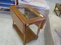 "We have an oak 3/4"" slate (3 pieces) pool table. Medium"