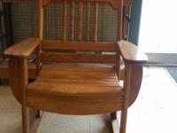 Brand New Handmade Oak Rocking Chairs. Small Rocker $90