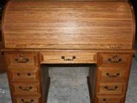 Teak Roll-top Desk for Sale in Tulsa, Oklahoma Classified ...