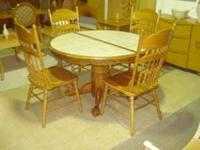 This is a very nice dining set in excellent condition.
