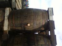 Oak Wine Barrels asking $40.00 for full barrels great