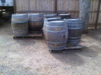 OAK WINE BARRELS FOR SALE $50 EACH  // //]]> Location: