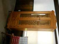 nice oak cabinet, i bought this about 15 yrs ago but