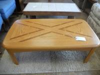 Good wood coffee table in fantastic condition. COLLEGE