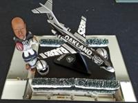 Boeing 727-100 decked out in full Oakland Raiders