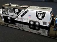 1990 Oakland Raiders motor coach bus, produced by Dan