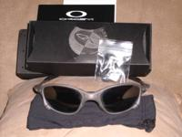 Brand new Oakley X Metal Sunglasses with box,nose pads