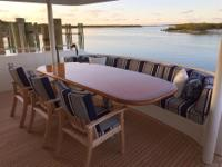 OASIS is an elegant 112' Westport built for a