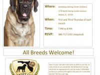 All breeds welcomed! Join us for Obedience, puppy, and