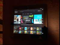 kindle Fire HD is in like new condition comes with