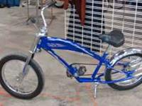 Cool, mint condition OCC Chopper bicycle .. .over-sized