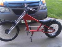Orange & black schwinn occ stingray bike for sale  No