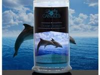 Ocean Breeze Scented Candle ... Full size 21oz