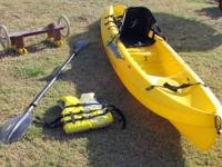 Ocean Kayak brand Sit-On-Top kayak, Scrambler model.