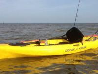 I am selling my ocean kayak tetra 10 angler, with