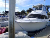 The Ocean 38 Super Sport is a mid-sized boat with an