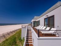 Set on the crest of a dune with approx. 243 feet of