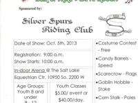 On Oct. 5th, 2013 The Silver Spurs Riding Club is