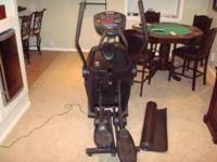 for sale octane q35 elliptical trainer. good shape