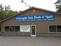Midnight Sun Pools n Spa's  Fall Spa close out. If you