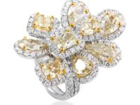 Set in radiant 18K yellow gold to provide a warm