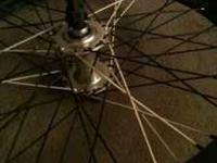I have a front bmx wheel for sale it has a odyssey