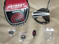 Odyssey White Ice Dart Putter Excellent Condition with