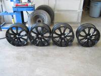 FOR SALE IS A SET OF OEM 2014 AUDI A6 10 SPOKE 20 X 8.5