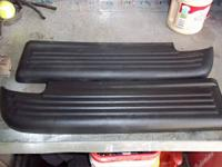 I have 2 black used sets of oem rear bumper step pads.