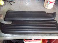 I have 2 black used sets of oem rear bumper step pads.