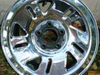 OEM FORD Mercury Chrome Wheels - $200 (4) OEM Ford
