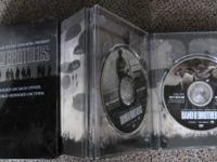Band of Brothers DVD Box Set-6 discs in metal box  $30