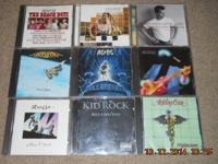 Have over 100 cd's in excellent condition..mostly