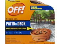 The OFF. Mosquito Coil Holder with 4 Country Fresh