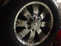 "I'm selling these 20"" rims and wheels these are balls"
