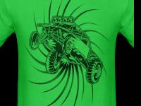 I sell off-roading shirts. Such as trucks, dune buggie,