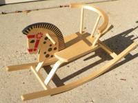 Offi Classic Baltic Rocking Horse Birch Plywood Like