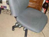 Old office chair that I don't need. It is taking up