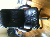 Standard black office chair, call if interested.