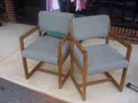 OFFICE CHAIRS can be seen at HAZEL GREEN THRIFT STORE