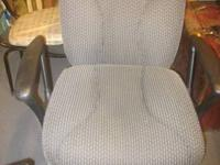 Office chair for sale, great condition, roller wheels,