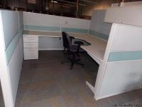 We have a wide selection of used office cubicles.