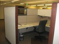 "Haworth Premise Workstations8 x 8's 66"" Height Panels"