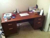 I am selling my gigantic office desk because I am