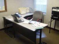 Small Storage Convertible Desk Small Office Station For