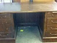 Office Desk for Sale - 4 drawers on right side - 3