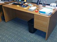 "RATES REDUCED FOR QUICK SALE!  HON Executive desk 72"" x"