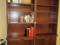 Variety of office furniture including desks, chairs,