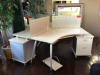 WE HAVE A LARGE INVENTORY OF OFFICE FURNITURE NEW AND